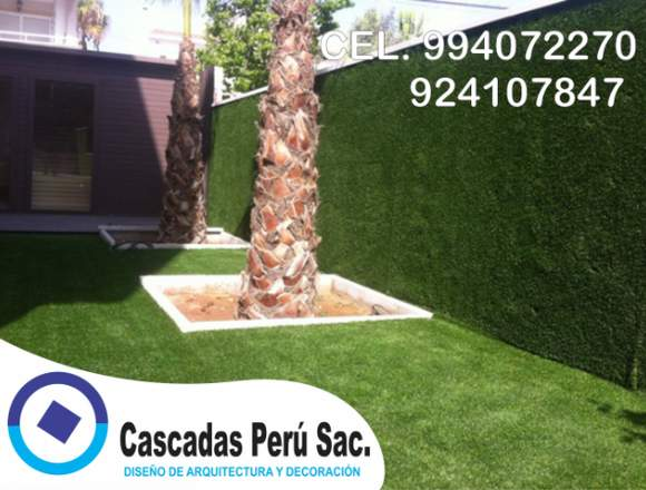 jardin vertical artificial terraza, muro vertical