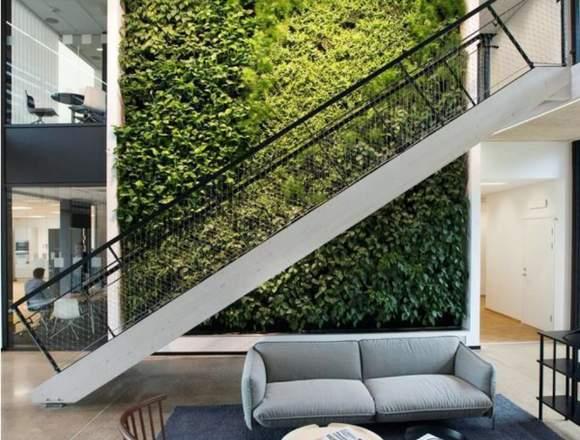 jardin vertical artificial, jardin vertical
