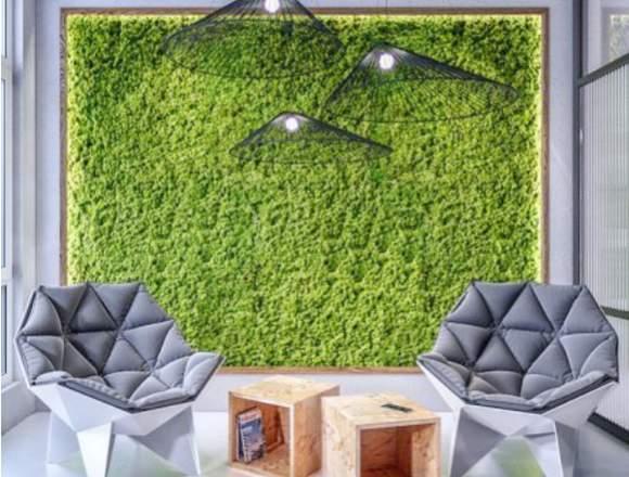 jardín vertical, jardín vertical decoración