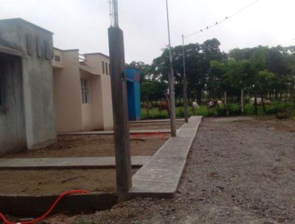 Casa nueva en Los Cañales Huimanguillo