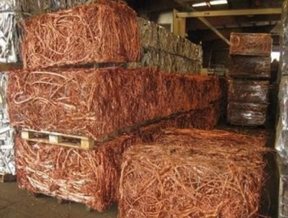 Chatarra de alambre de cobre, cobre Millberry