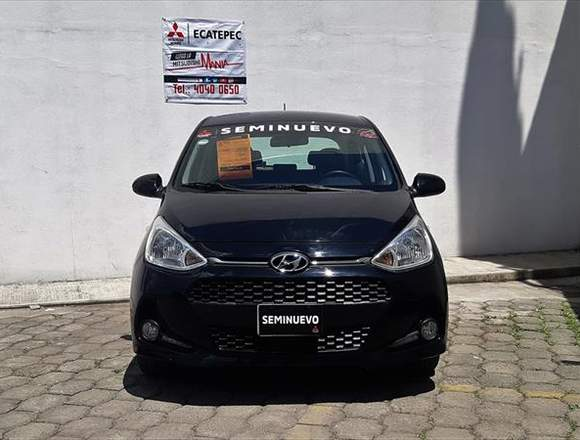Hyundai Grand i10 HB Negro - transmisión manual