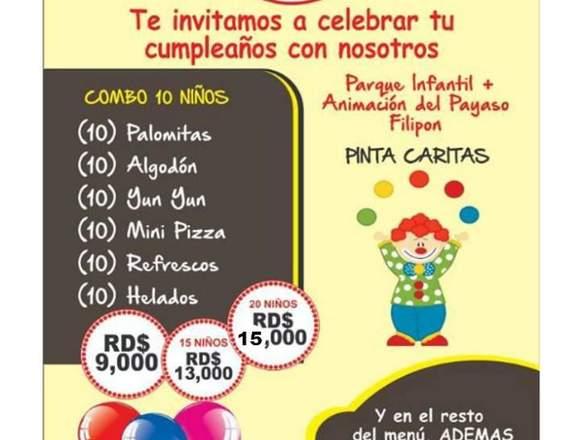 Plan de Cumpleaños para niños(a)