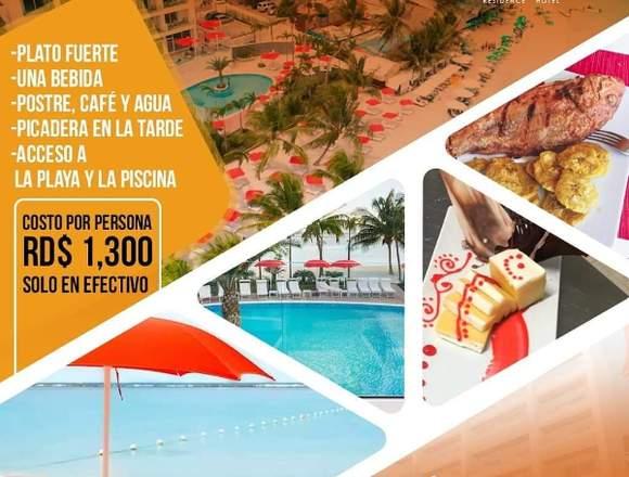 Pasa Dia en nuestro hotel boca beach residence