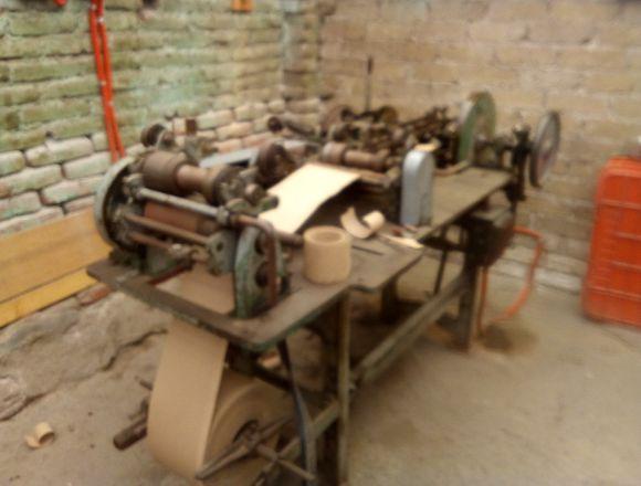 Maquinas para fabricar tubos de cartòn convolute