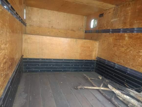 Caja seca con copete y faldones puertas abatibles