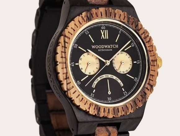 Bonitos y originales relojes de pulsera de madera