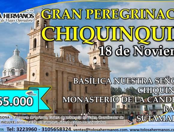 Peregrinación Basílica Chiquinquira