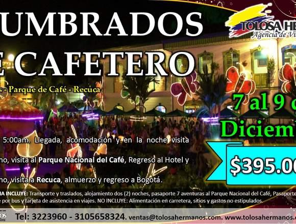 Eje Cafetero Alumbrados, Parque del Cafe, Recuca