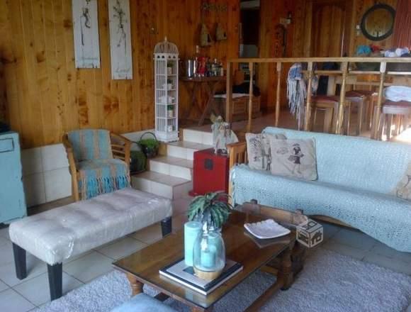 casa 12 personas en el lago ranco