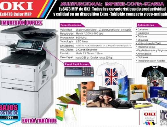 A1 venta de impresora laser OKI ref: 8473