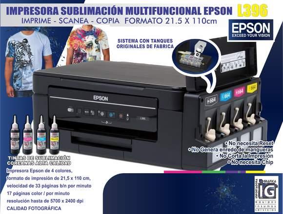 AA Epson L396 de sublimacion