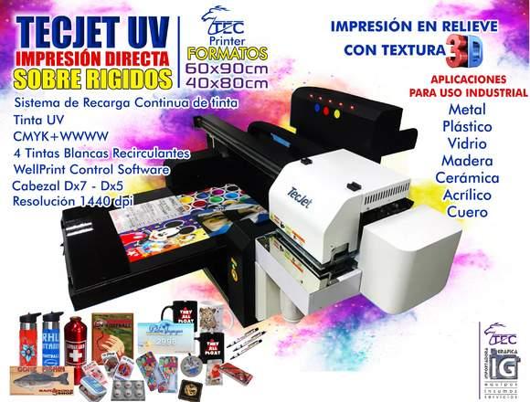 Impresora directa sobre rigidos
