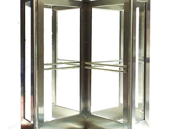 Puerta Giratoria de Cristal Shield3