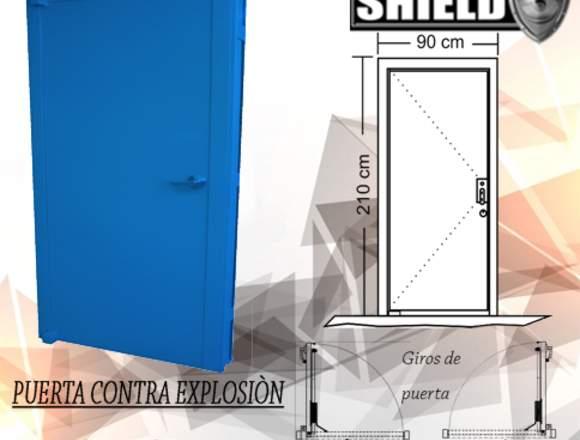 PUERTA CONTRA EXPLOSIÓN SH3PCE-506