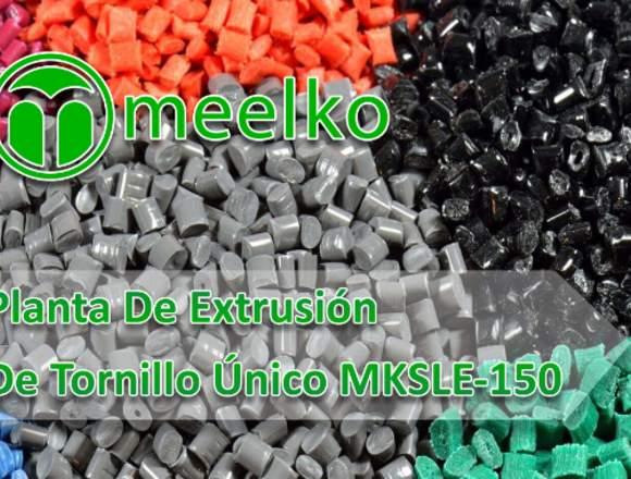 Planta De Tornillo Único MKSLE-150 meelko