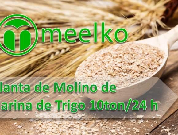Planta de Molino de Harina 10ton/24h meelko