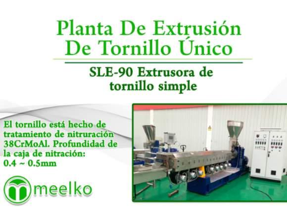 Planta De Extrusión MKSLE-90 meelko