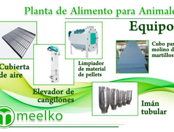 Planta de Producción de Alimentos MKRD350W meelko