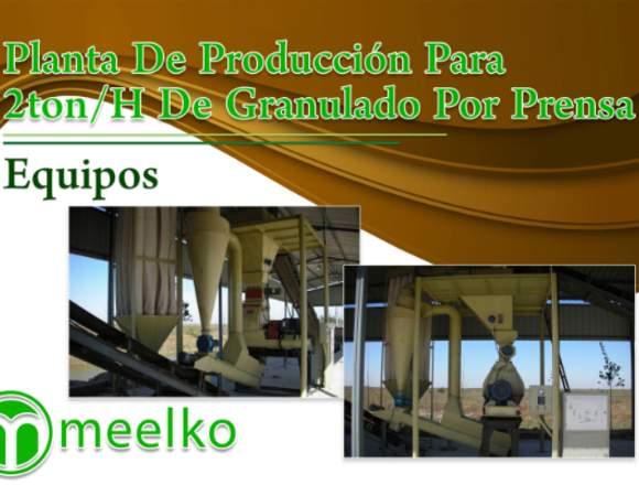 Planta de cáscara de café MKRD508 meelko