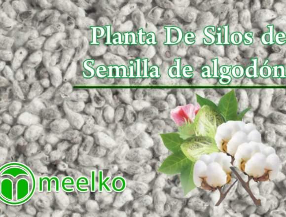 Planta De Silos de Semilla de algodón meelko