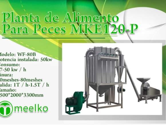 Planta de Alimento Para Peces MKE120-P meelko