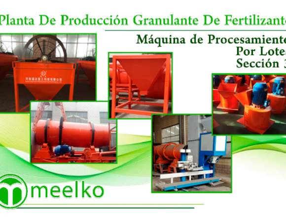 Planta de Granulante De Fertilizante meelko