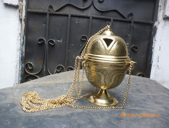 Venta de incensario de bronce en Guayaquil Ecuador