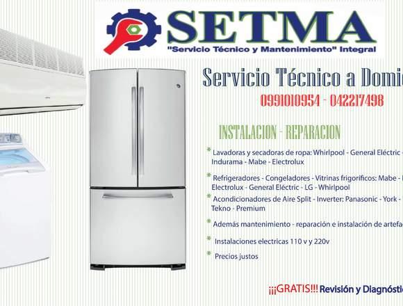 Servicio Técnico - Linea Blanca