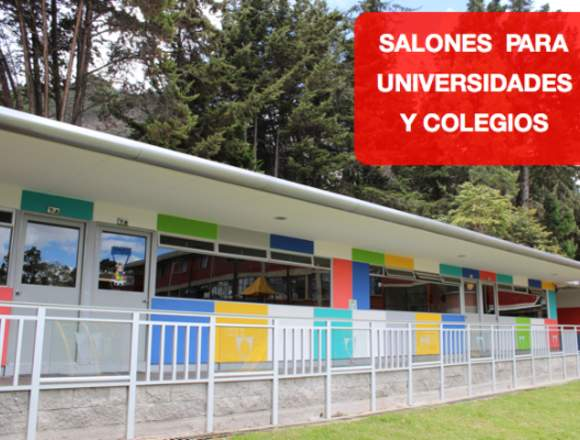 Aulas modulares  para colegios y universidades