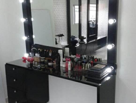 Muebles para peluqueria, muebles para barberias