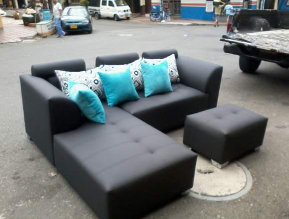 sofas esquineros modernos en medellín