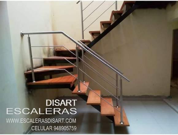 Escaleras Metalicas y madera