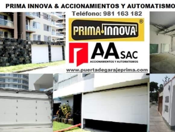 Puerta de Garaje Seccional Importada Lima Perú