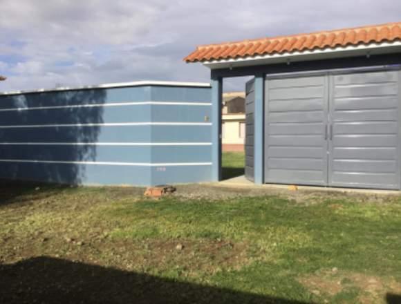 Casa en Venta Km. 4 y 1/2 a Sacaba, zona Arocagua.