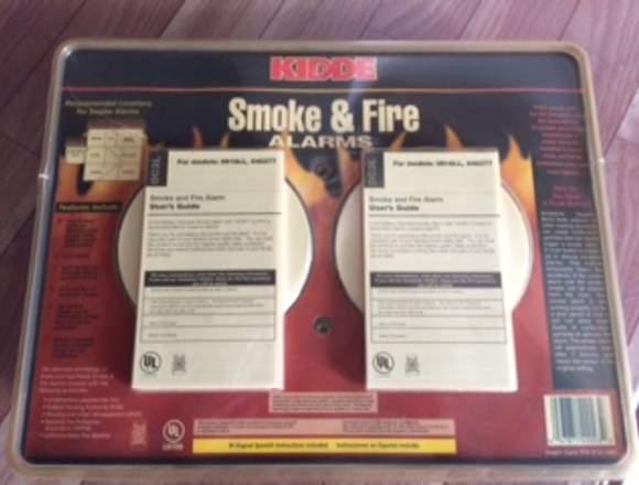 Alarma de humo y fuego sin usar vendo
