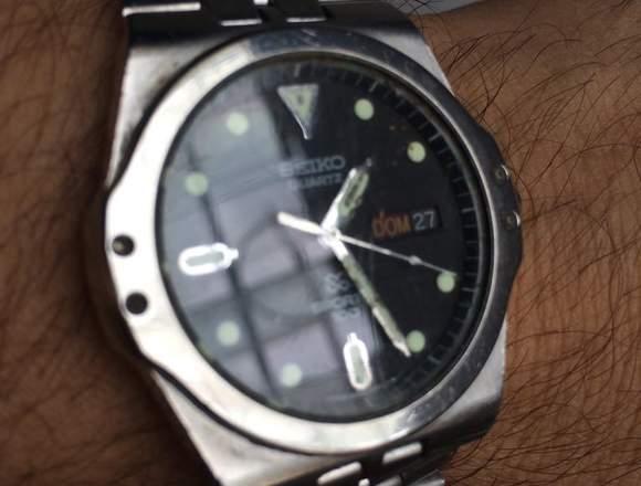 Reloj original Seiko de colección.