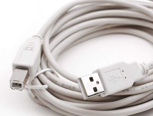 Cable USB 2.0 Male AB 6Feet 16U2AB06Z