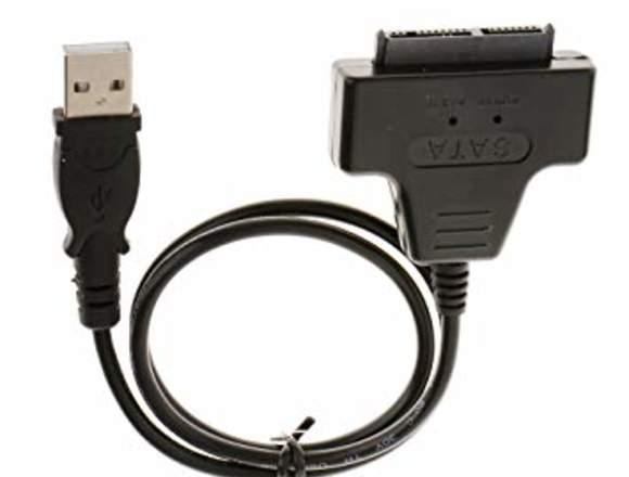 Cable adaptador hdd a usb2.0 sin usar