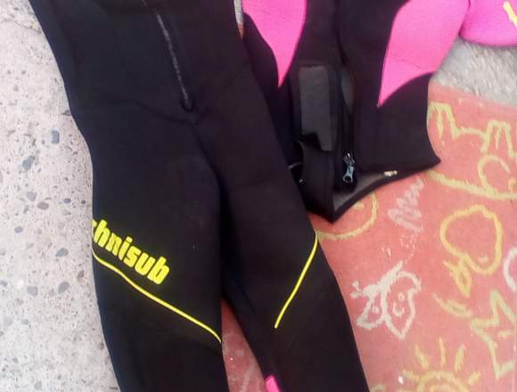 Traje buceo mujer 7 mm