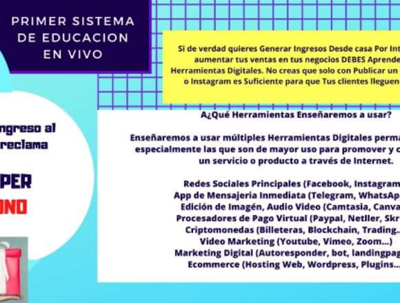 CURSO EN LINEA DE HERRAMIENTAS DIGITALES