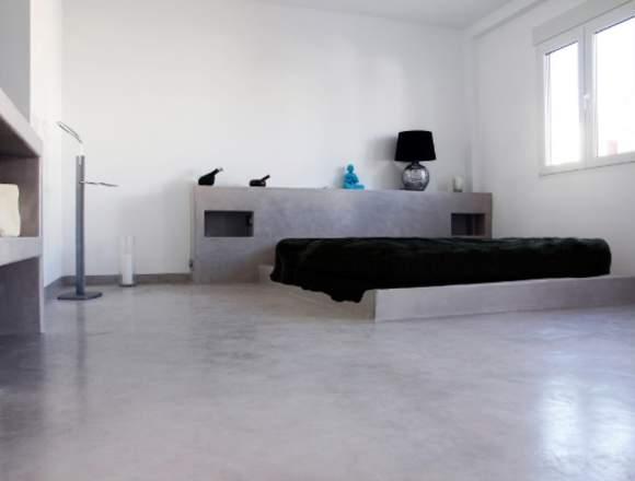 Microcemento para paredes y pisos