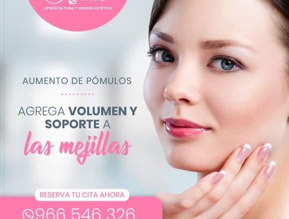 Agrega volumen a tus pómulos - Clínica Renacer