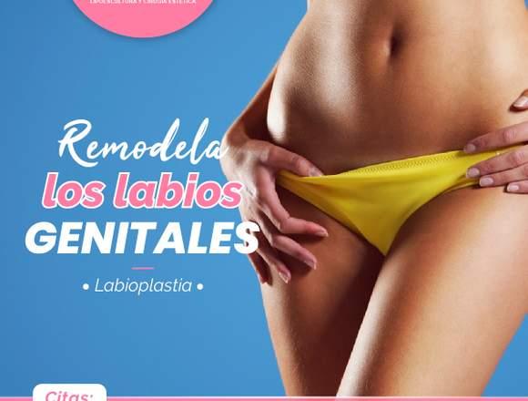 Corrige los labios vaginales - Clínica Renacer