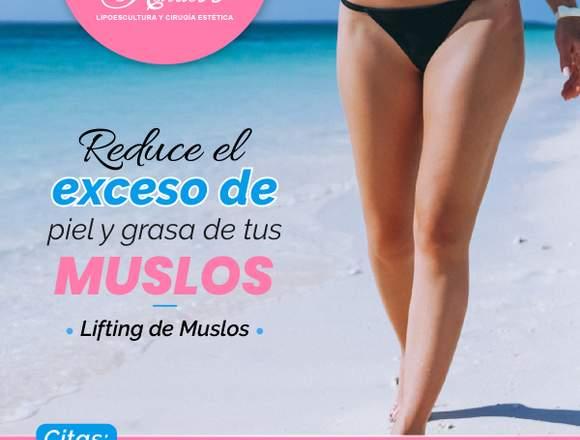 Soluciona las piernas flácidas - Clínica Renacer