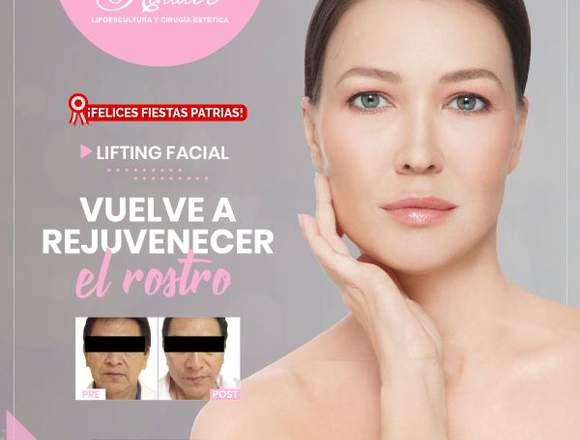 Logra el rejuvenecimiento facial - Clínica Renacer
