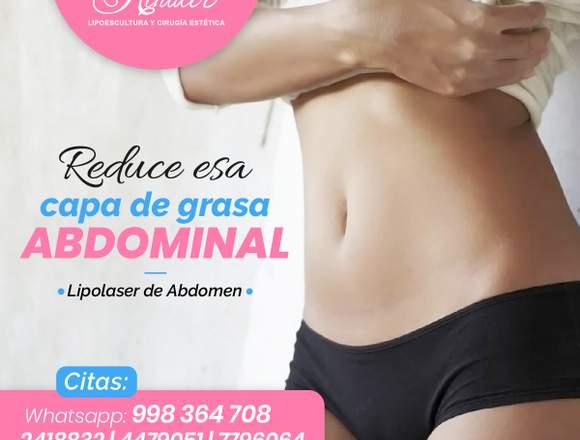 Reduce la grasa abdominal - Clínica Renacer