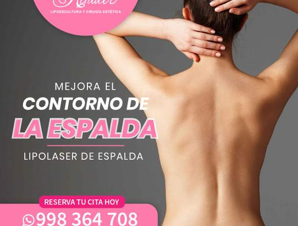 Mejora la silueta de la espalda - Clínica Renacer