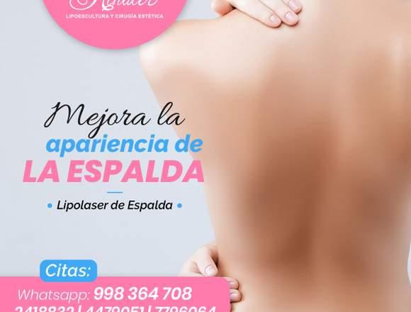 Espalda sin exceso de grasa - Clínica Renacer
