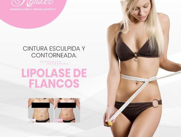 Flancos sin grasa con lipolaser - Clínica Renacer